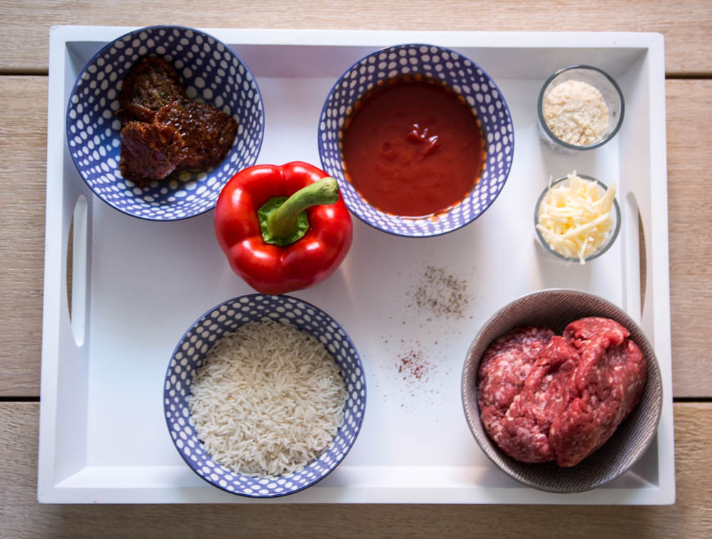 Zutaten Cevapcici mit Tomatenreis