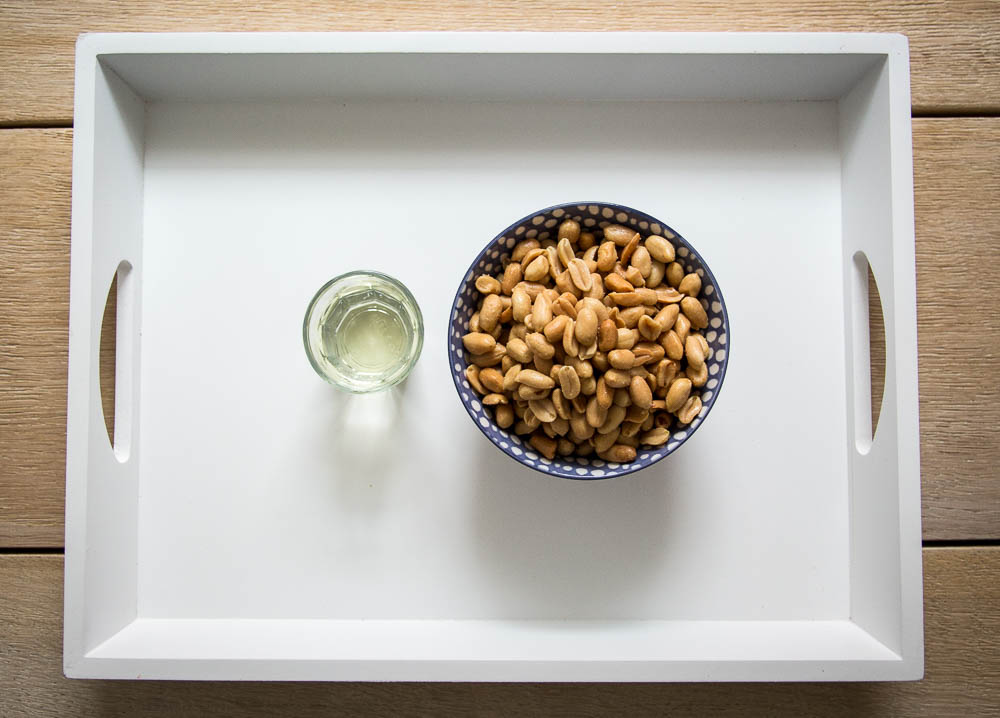 Zutaten Erdnussbutter