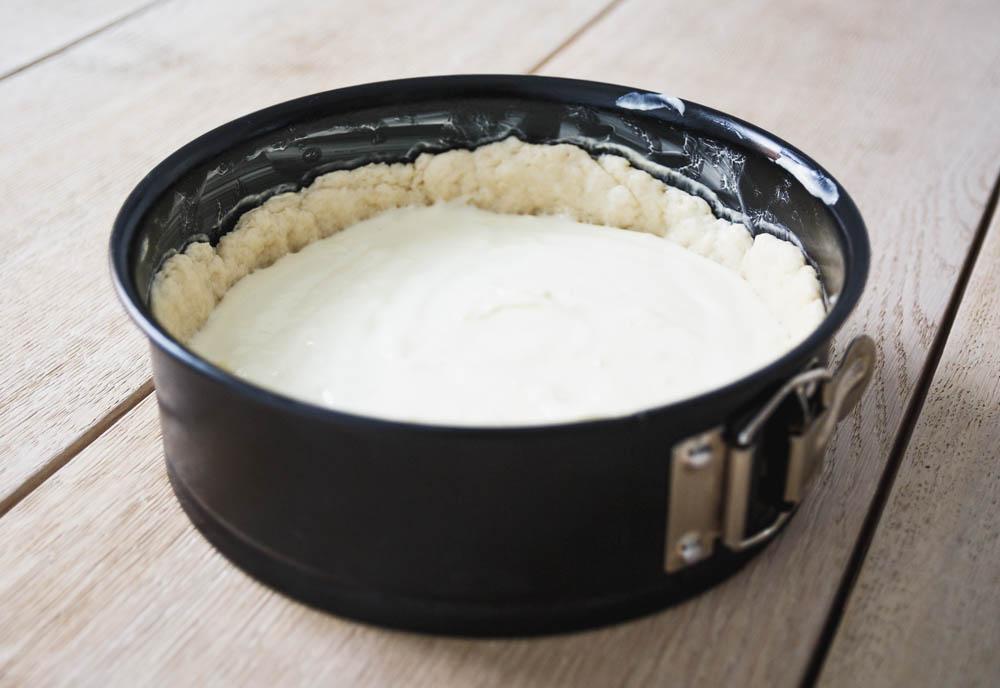 Boden Rhabarberkuchen