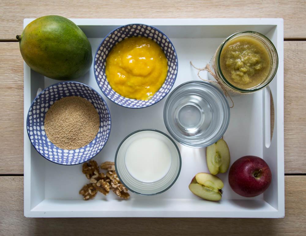 Zutaten Amaranth Porridge