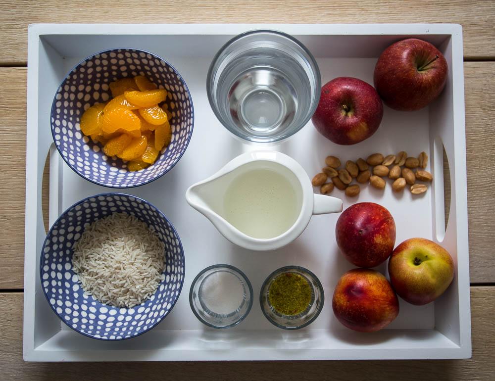 Zutaten Reissalat mit Buttermilch-Dressing