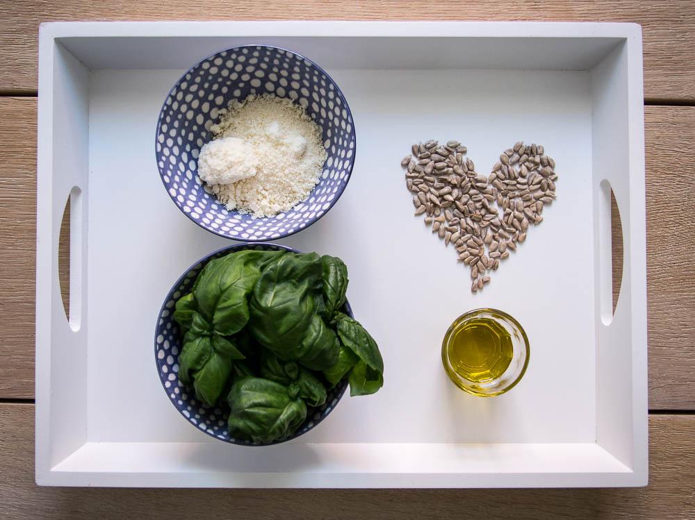 Zutaten Basilikum Pesto