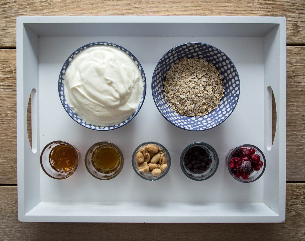 Zutaten Frozen Joghurt