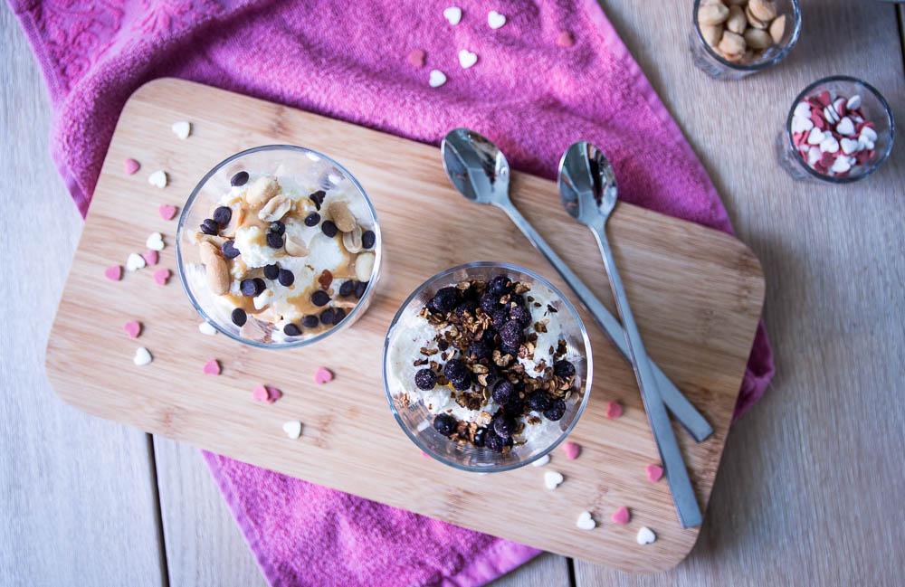 Frozen Joghurt ohne Eismaschine
