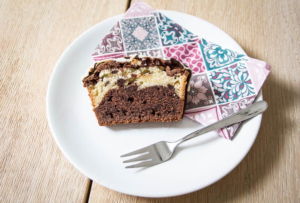 Schokoladen Marmorkuchen ohne Ei