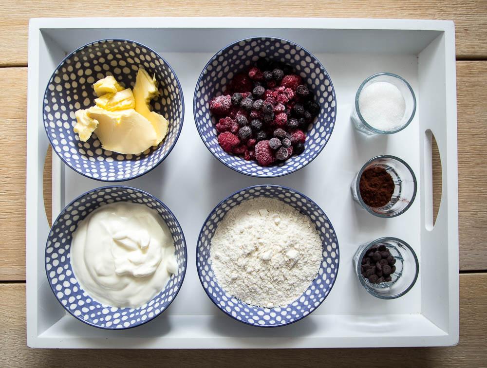 Zutaten für das Joghurt Dessert