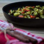 vegetarische Gnocchi Pfanne