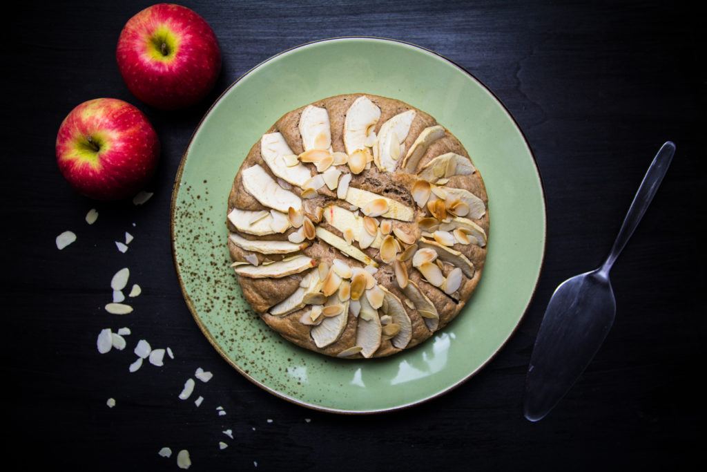 Apfelkuchen basisch