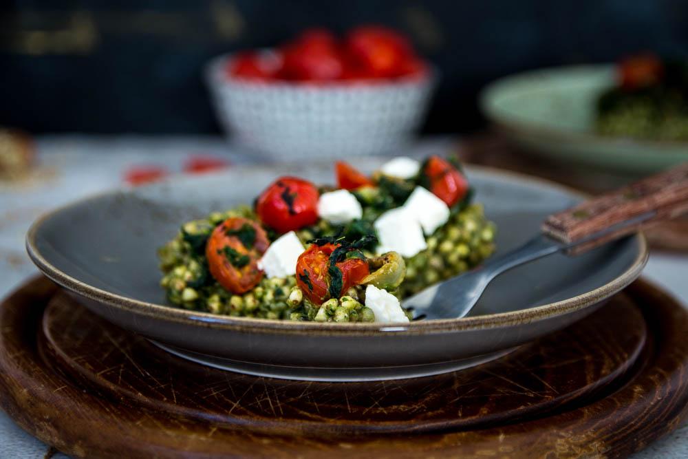 Buchweizen Gemüse Pfanne