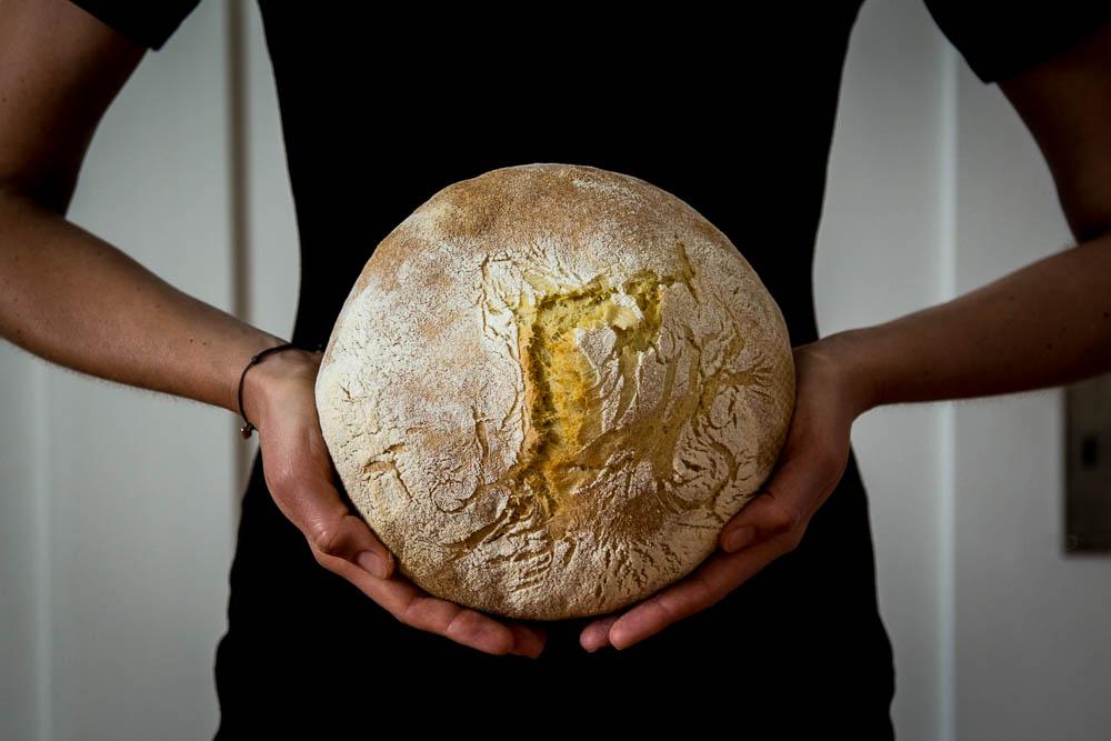 Köstliches italienisches Hartweizenbrot - Pane Di Grano Duro