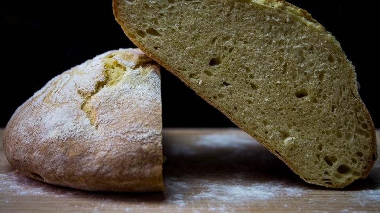 Köstliches italienisches Hartweizenbrot – Pane Di Grano Duro