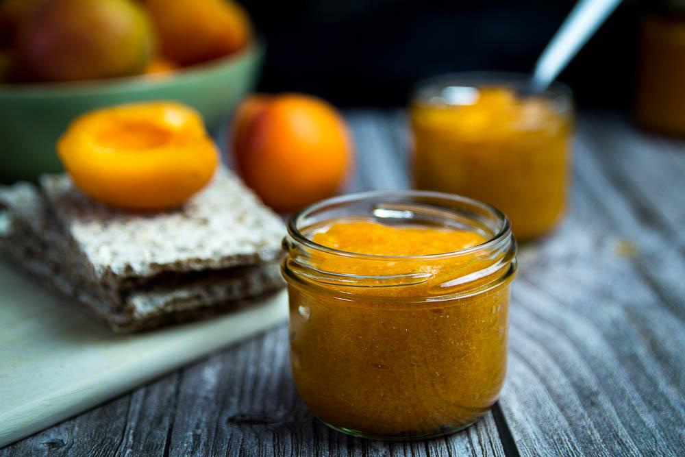 Zuckerfreie Aprikosenmarmelade