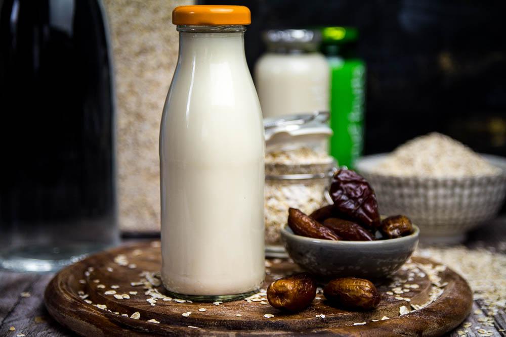 selbst gemachte Hafermilch